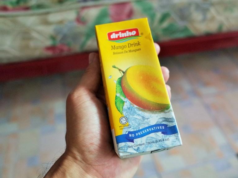 マレーシアのマンゴージュース