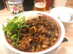 肉汁麺ススムの肉汁麺レベル2 880円