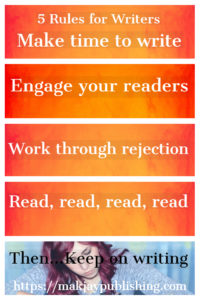 List of 5 rules for writers