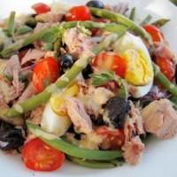 Caloriearm Recept van Salade Nicoise met Tonijn