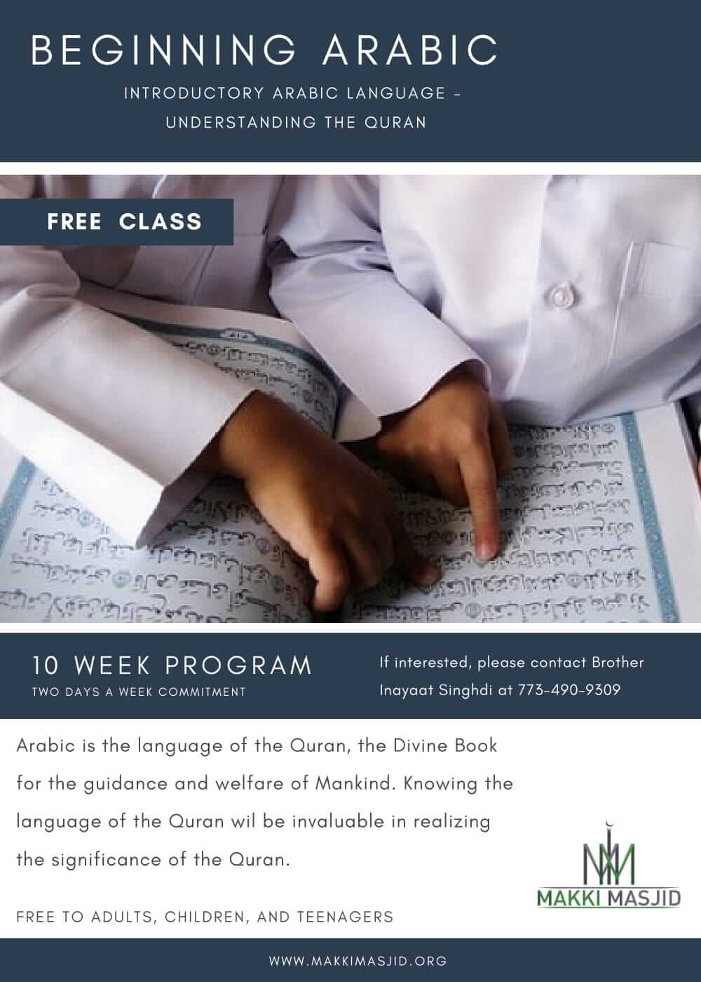 FREE, Beginners Arabic Course for everyone!