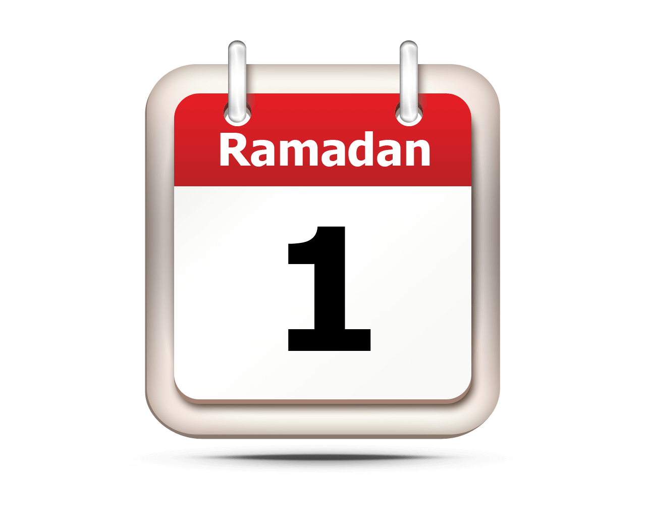 Ramadan 1439 will start Thur. May 17th