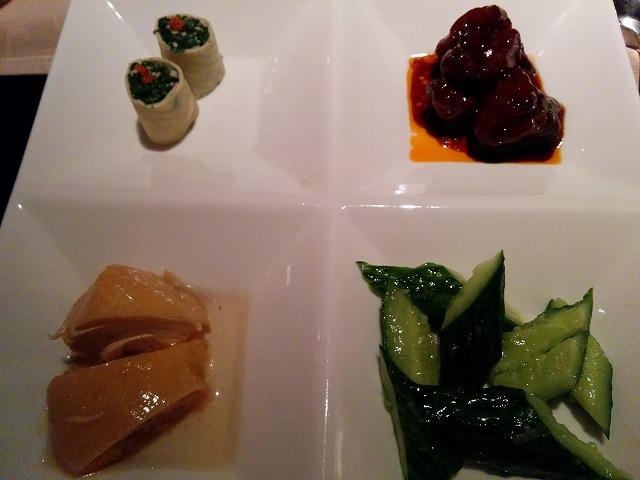 夜上海の前菜