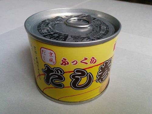 ミスターカンソのだし巻き玉子の缶詰