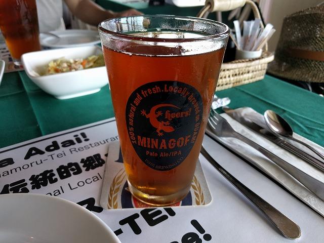 チャモロ亭のミナゴフビール