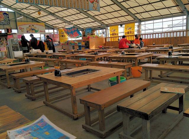 糸島のカキ小屋