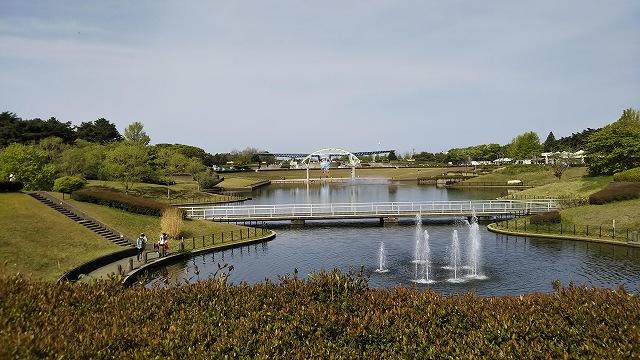 ひたち海浜公園 噴水