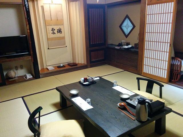 黒川荘の部屋食