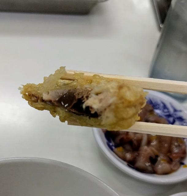 天ぷらのひらおサバ