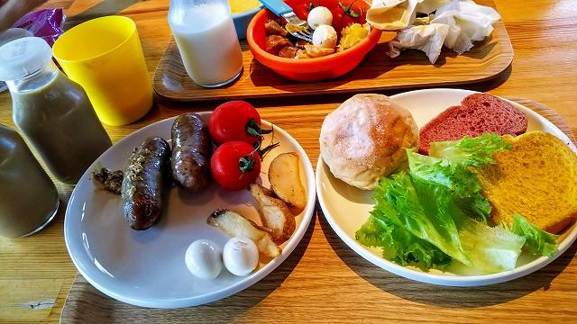 THEファームキャンプ場 朝食