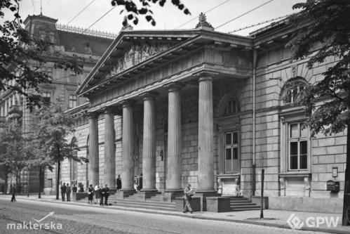 Historia GPW. Siedziba giełdy na ulicy Królewskiej