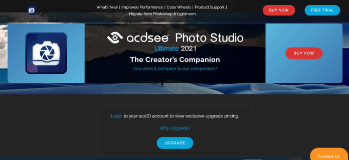 ACDSee Photo Studio for Windows 11 OS