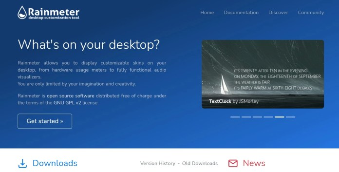 RainmeterLive Wallpapers for Windows 11