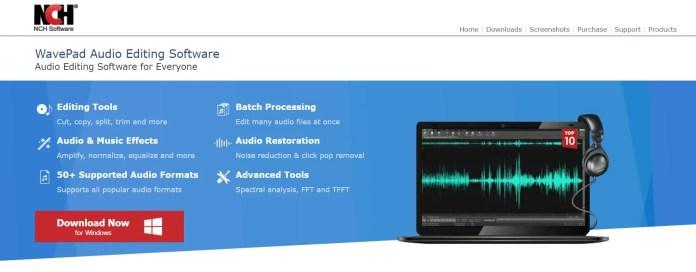 WavePad Audio Sound Equalizers for Windows 11