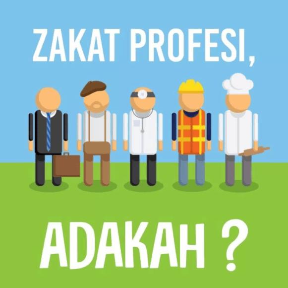 hukum zakat profes