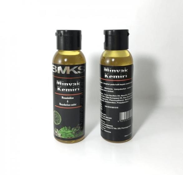 minyak kemiri asli