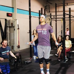 Carlos perform double-unders