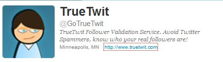 Do You Use True Twit Validation On Twitter? It Is Spam, Spam, Spam