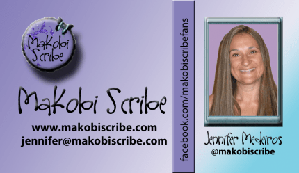 Makobi Scribe Business Card