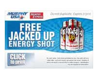 Free Jacked Up Energy Shot