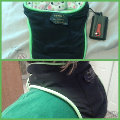 TrapWrap Cordless Heating Pad Battery Operated