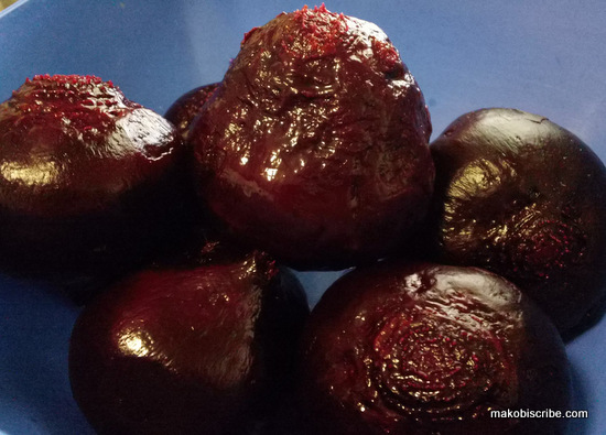 Fresh Roasted Beets Recipe