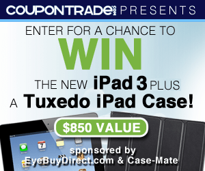 iPad 3 Sweepstakes From CouponTrade