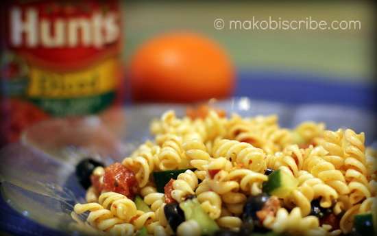 Hunts Greek Pasta Salad
