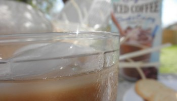 Pull up a chair and have a glass of iced coffee