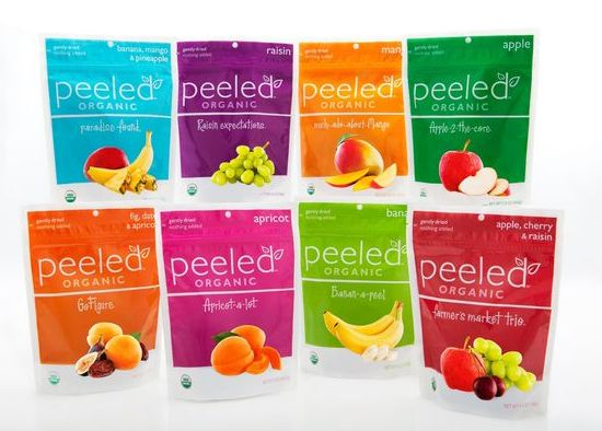 Organic Snacks For Kids From Peeled Snacks Sweepstakes