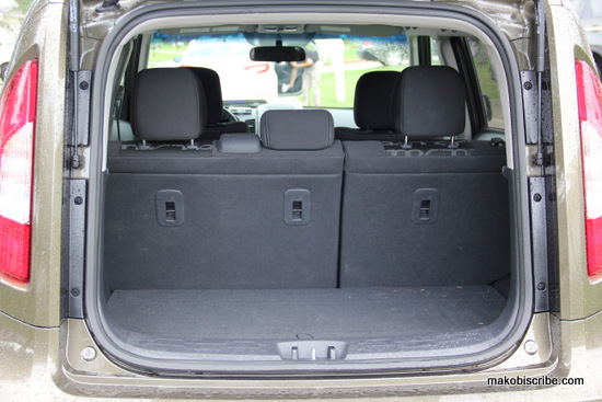 Kia Soul Trunk Space