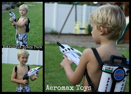 Outdoor Water Fun for Kids with the Aeromax Astronaut Space Pack