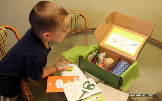 Encourage Creativity With Kiwi Crate Easy Crafts For PreSchoolers