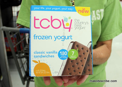 TCBY Frozen Novelties