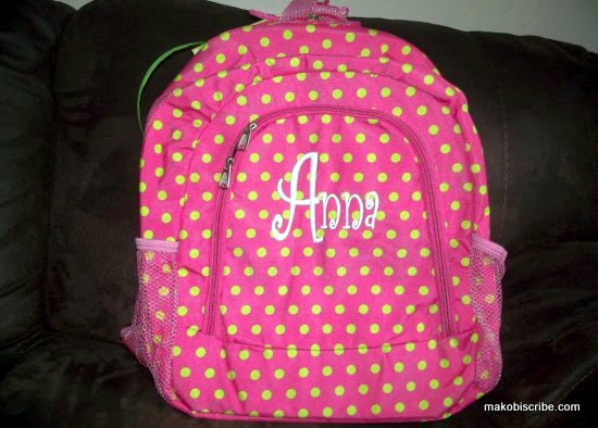 Personalized Backpacks For Back To School
