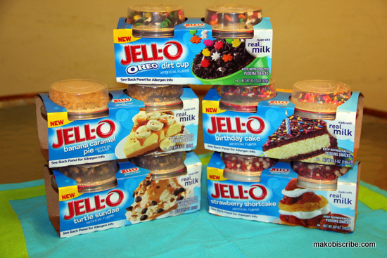 Jello Pudding Snacks