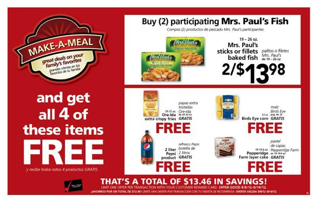 Winn-Dixie's Newest Make-A-Meal and What-A-Deal Promotion