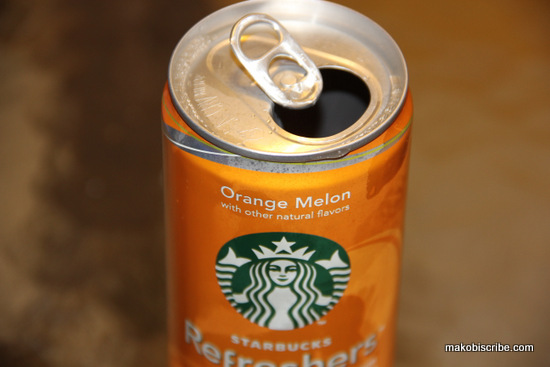 Low calorie drink in a can