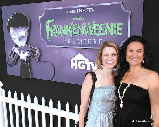 The Frankenweenie Premiere White Carpet #DisneyMoviesEvent In Hollywood