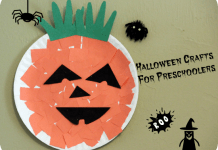 Halloween preschool craft