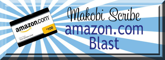 Amazon Twitter blast Week 1 November Sweeptsakes
