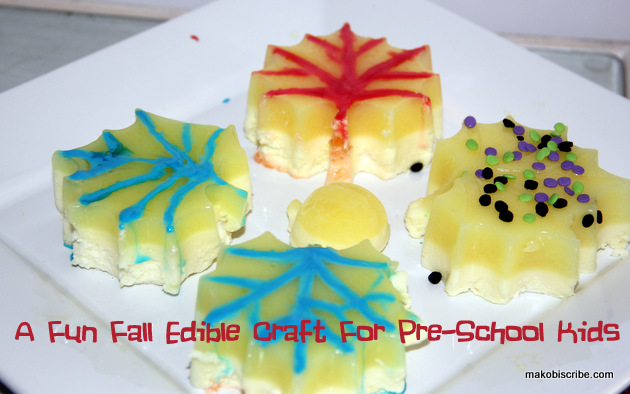 Easy Fall Craft For Preschool kids