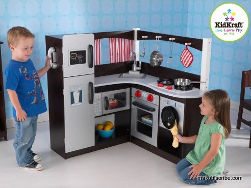 KidKraft Grand Espresso Corner Kitchen Sweepstakes