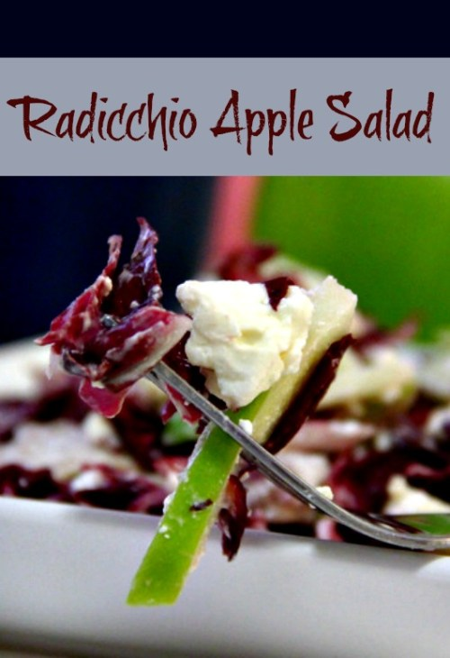 Radicchio Apple Salad