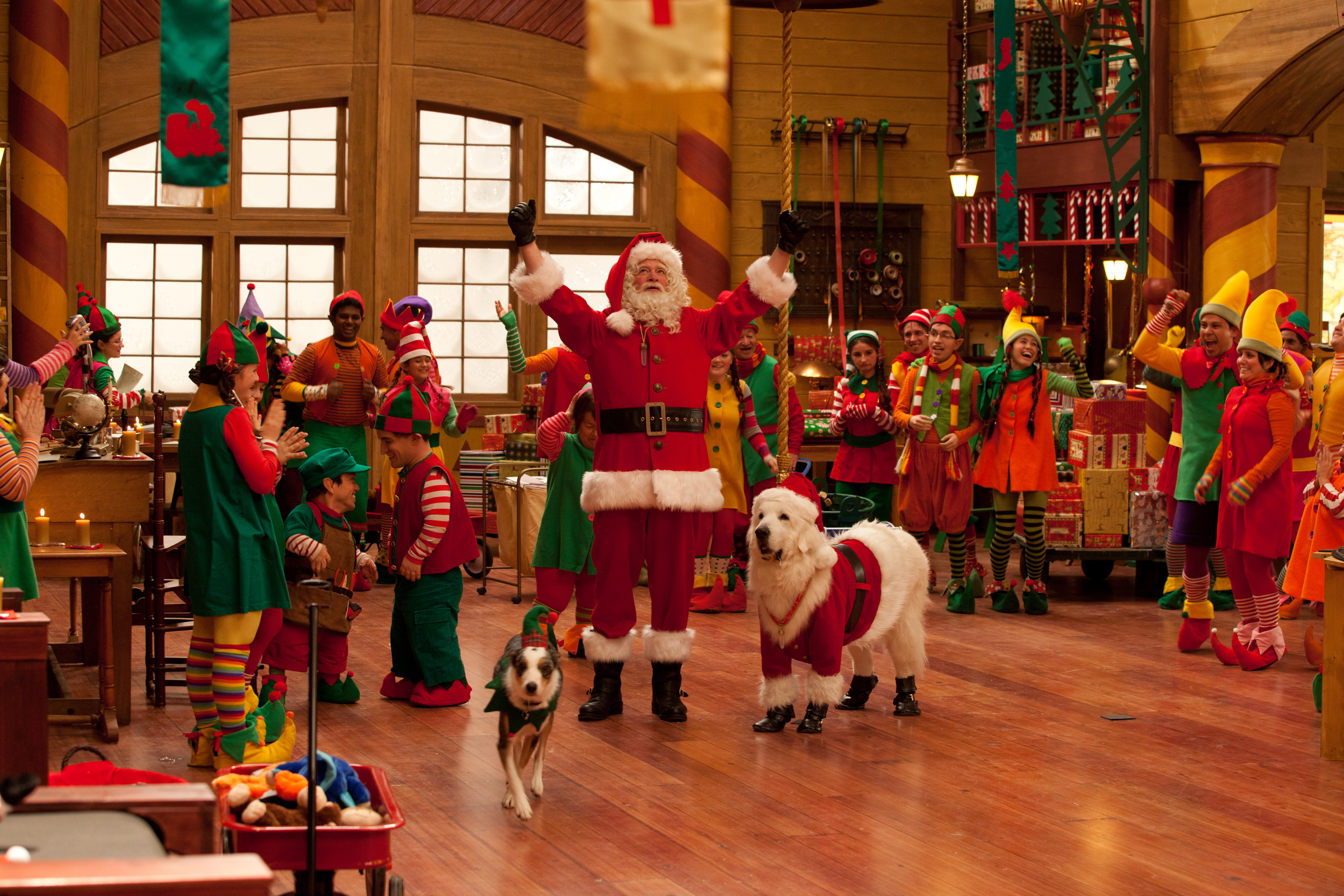 Santa Paws 2: The Santa Pups Will Get You In The Holiday Spirit