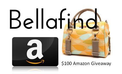 Win A $100 Amazon Gift Card From Bellafind