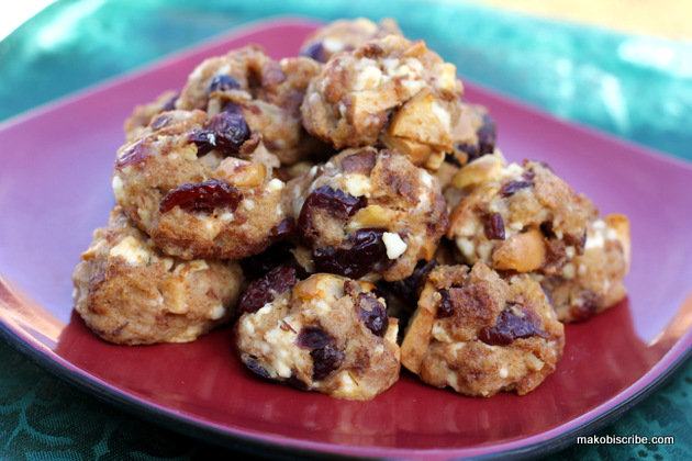 Cranberry Apple Stuffing Balls Recipe