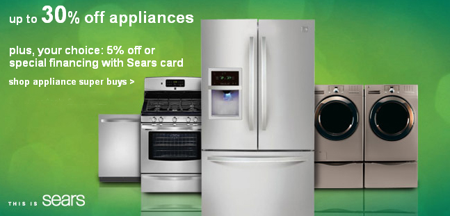 Dream Big! Sears Appliance Sale