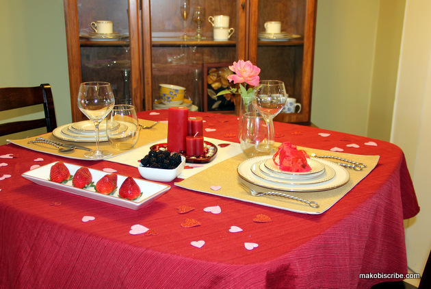 Creating Romance With A Tablescape #SeductiveTables