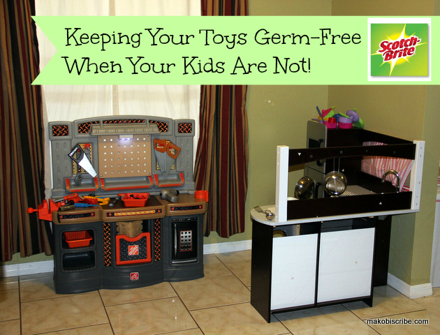 Keeping Your Toys Germ-Free When Your Kids Are Not